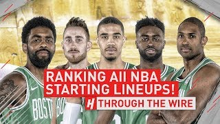 Download Ranking ALL NBA Starting Lineups | Through The Wire Podcast Video
