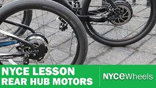 Download E-Bike Hub Motor Comparison, Geared vs Gearless - NYCe Lesson Video