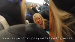 Download Untrained ″Service Dog″ on Airplane Video