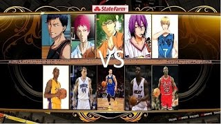 Download Kuroko's Basketball (Teiko vs NBA) Video