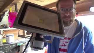 Download Review & How to Install eBay 30w LED Floodlight UK Video
