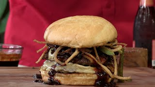 Download Smokey Double Bison Bacon Cheeseburger! Video