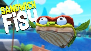 Download Eating the Legendary Sandwich Fish and Visiting the Coast! - Crazy Fishing HTC Vive VR Video