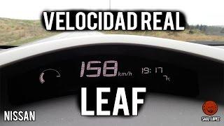 Download El velocímetro del Nissan Leaf MIENTE (y miente mucho) Video