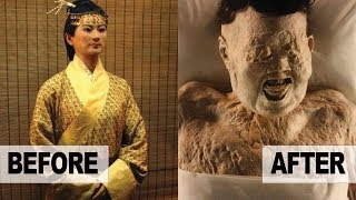 Download 2,000 Year Old 'BEAUTIFUL' Chinese Mummy STILL Has GREAT HAIR Video