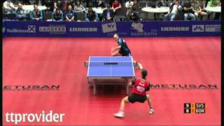 Download Champions League 2011: Daniel Habesohn-Timo Boll Video