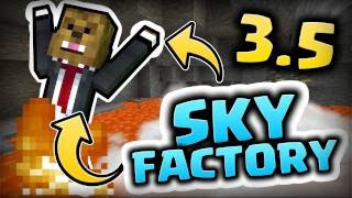 Download COMPLETING OUR FIRST AGE!! (Sky Factory 3.5 w/JeromeASF) Video
