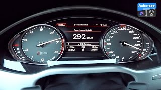 Download 2017 Audi S8 plus (605hp) - 0-300 km/h acceleration (60FPS) Video