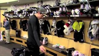 Download Sidney Crosby Stick Prep and Geno: ″Where's my logo?″ Video