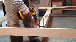 Download Queen Size Bed Frame DIY Video
