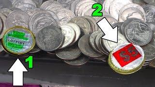 Download BIGGEST Coin Pusher Bonus Win Ever Video