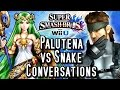 Download Super Smash Bros Wii U PALUTENA'S Guidance vs SNAKE'S Codec Calls! Conversations Comparison (HD) Video