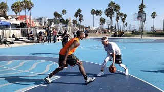 Download The Professor vs Pro Competition at Venice Beach.. DESTROYS 6'3″ hooper Video