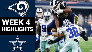 Download Rams vs. Cowboys | NFL Week 4 Game Highlights Video