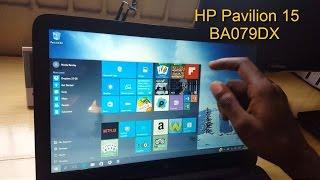 Download HP Pavilion 15 BA079DX TouchScreen Laptop Video