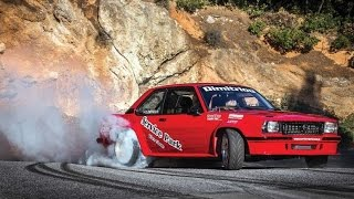 Download Opel Ascona Turbo - Highspeed Drift at Hillclimb Video
