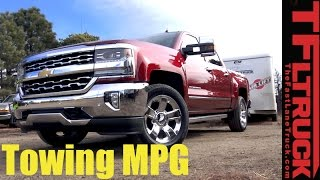 Download 2017 Chevy Silverado 6.2L Towing MPG Review: How Thirsty Is The Big V8? Video