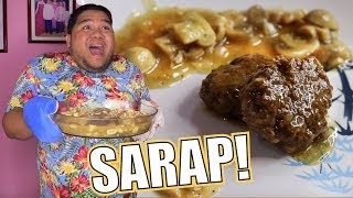 Download Magluto tayo ng BURGER STEAK ala JOLLIBEE (Sobrang EASY LANG Bes!!) | Lutobaninat #7 Video