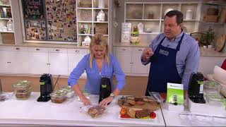 Download FoodSaver FreshSaver w/ Containers & Zipper Bags on QVC Video
