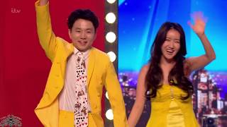 Download Britain's Got Talent 2018 Ellie and Jeki Quickest Quick Change Full Audition S12E04 Video