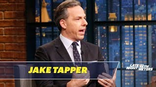 Download Jake Tapper Talks About His Stephen Miller Interview Video