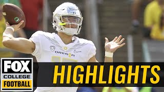 Download Nebraska vs Oregon | Highlights | FOX COLLEGE FOOTBALL Video