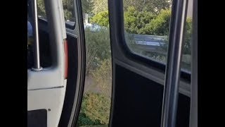 Download Monorail Door Opens With Guests on Board and Train in Motion at Walt Disney World Video