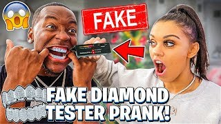Download Testing My Husband's $500,000 Diamonds With A FAKE DIAMOND TESTER 💎 Video