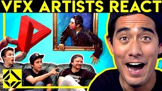 Download VFX Artists React to CGi Magic (ft. Zach King) Video
