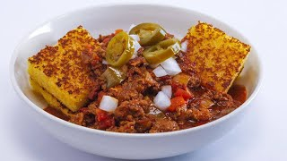 Download Serious Three-Meat Chili Video