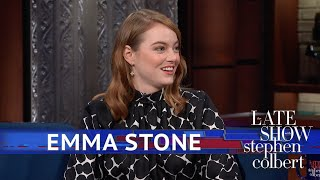 Download Emma Stone's Elf Character Caught Orlando Bloom's Attention Video