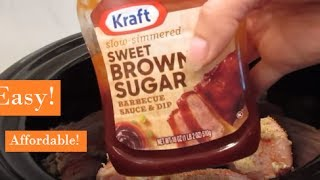 Download Crockpot Barbecue Chicken Meal | Easy Crockpot Recipe Video
