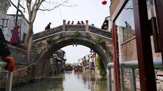Download 蘇州京杭大運河遊船七裏山塘 4K Video
