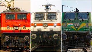 Download WAP4,WAP7,WAG9 High Speed Compilation of Indian Railways [Full HD] Video