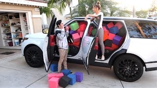 Download CRAZY FOAM PIT IN CAR SCARE PRANK! (Girlfriend on brother) Video
