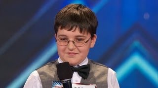 Download America's Got Talent S09E01 Adrian Romoff 9 Year Old Child Genius Shows off Piano Talents Video