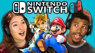 Download TEENS REACT TO NINTENDO SWITCH (TRAILERS) Video