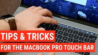 Download 20 Touch Bar Tips & Tricks for the New MacBook Pro Video