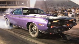 Download Old Hemi Cuda Beats up on NEW Muscle! Video