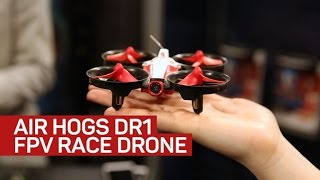 Download Air Hogs introduces FPV flying to its DR1 racing drone line Video