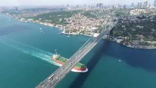 Download Istanbul aerial view, drone view Video