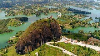 Download CLIMBING A GIANT ROCK IN GUATAPÉ, COLOMBIA (EL PEÑOL TRAVEL VLOG) | Eileen Aldis Video