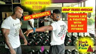 Download ERROL SPENCE JR'S STRENGTH AND CONDITIONING COACH TRAINS BLACK FIGHT FAN LIKE A PRO #NAWFTEXASMUSCLE Video