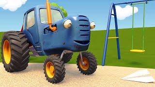 Download Развивающие мультики про машинки | Синий Трактор Гоша - Все серии - Учимся считать, запоминаем цвета Video
