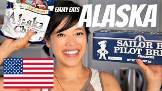 Download Emmy Eats ALASKA - tasting Alaskan treats Video