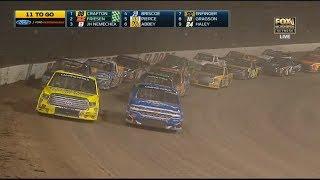 Download NASCAR Camping World Truck Series 2017. Eldora Dirt Derby. Restart & Last Laps Video