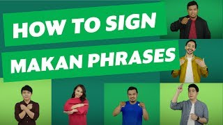Download The Sign Language Dictionary: Makan Phrases Video