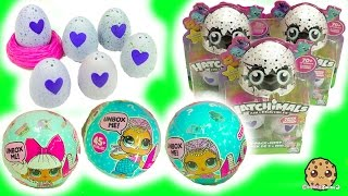 Download Hatchimals Hatching Surprise Blind Bag Baby Eggs & LOL 7 Layer Balls Cry? Color Change? Video