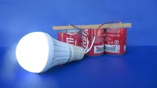 Download Free energy salt water with LED light bulbs - Experiment DIY science projects at home Video