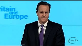 Download David Cameron Full Speech: Britain and Europe - January 23rd, 2013 Video